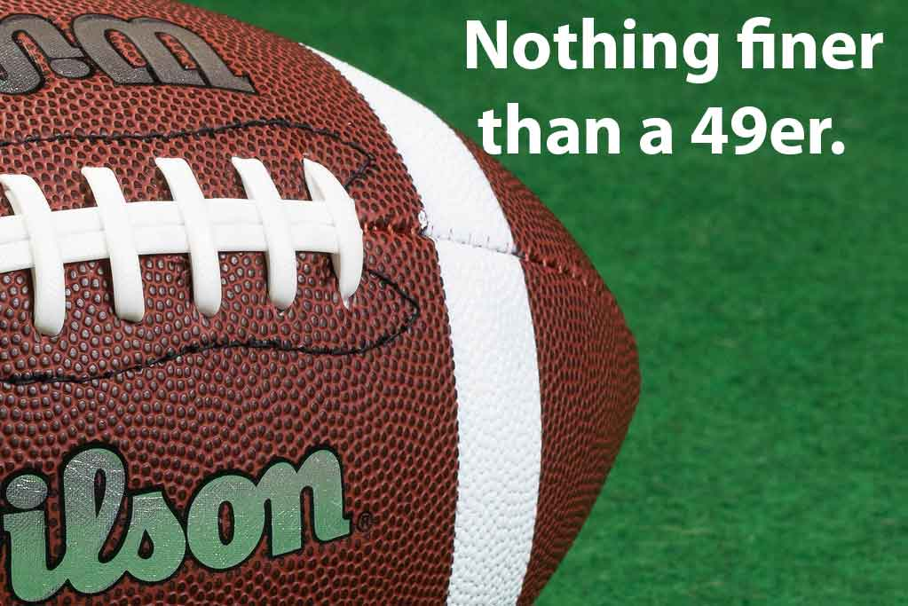 super bowl puns 49er